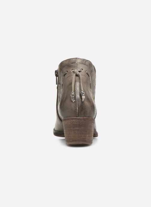 Ankle boots Khrio 10803K Grey view from the right