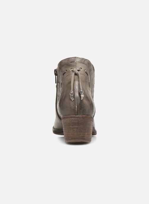 Bottines et boots Khrio 10803K Gris vue droite