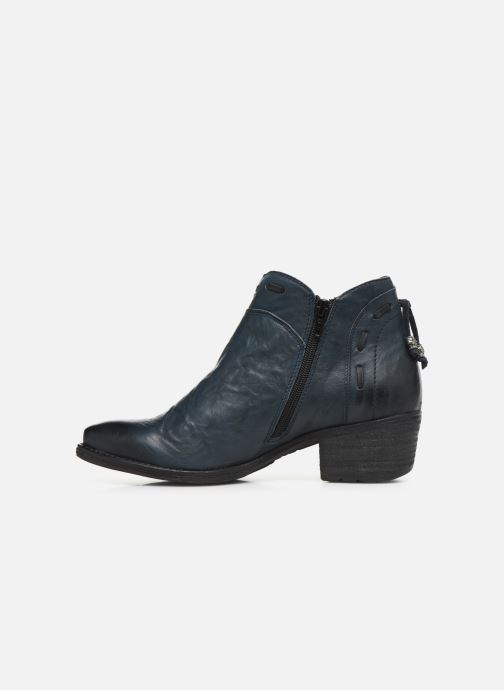 Ankle boots Khrio 10803K Blue front view