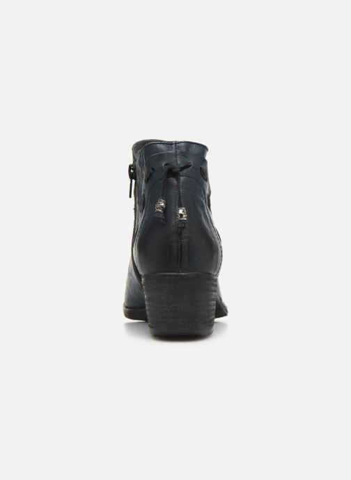 Ankle boots Khrio 10803K Blue view from the right