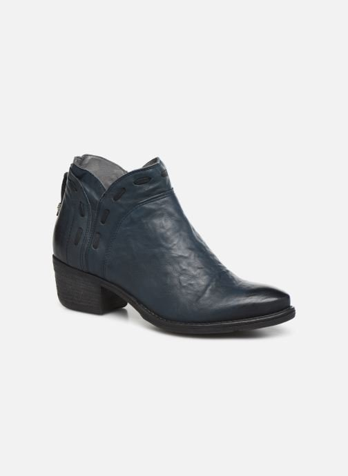 Ankle boots Khrio 10803K Blue detailed view/ Pair view