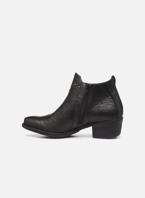 Ankle boots Khrio 10806K Black front view