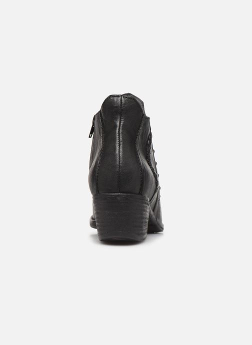 Ankle boots Khrio 10806K Black view from the right