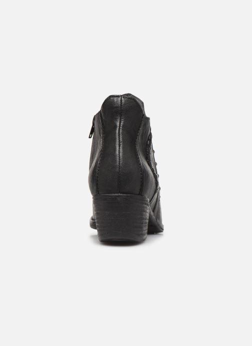 Bottines et boots Khrio 10806K Noir vue droite