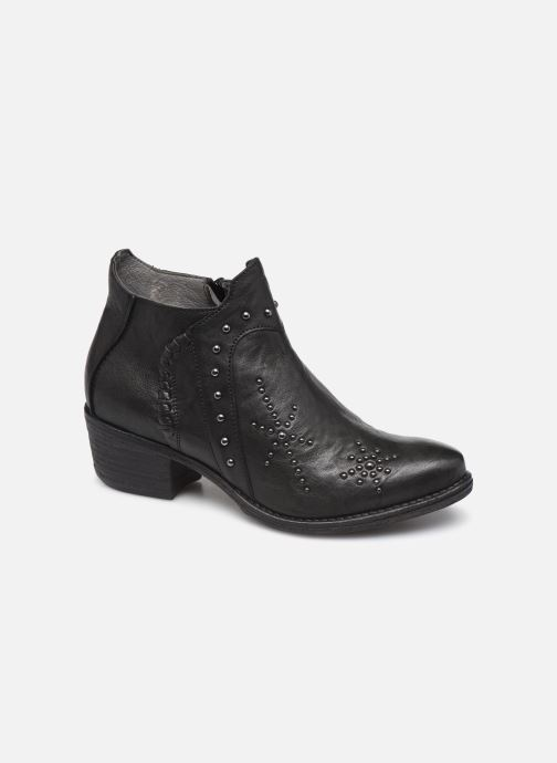 Ankle boots Khrio 10806K Black detailed view/ Pair view