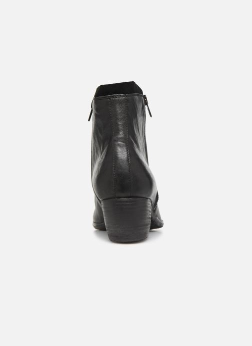 Ankle boots Khrio 10721K Black view from the right