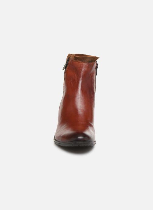 Bottines et boots Khrio 10721K Marron vue portées chaussures