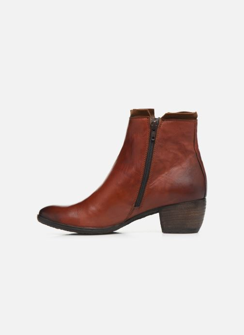 Ankle boots Khrio 10721K Red front view