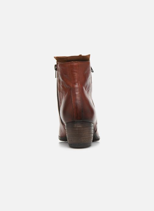 Bottines et boots Khrio 10721K Marron vue droite