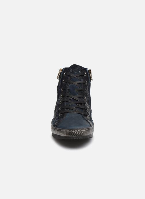 Baskets Khrio 10607K Bleu vue portées chaussures