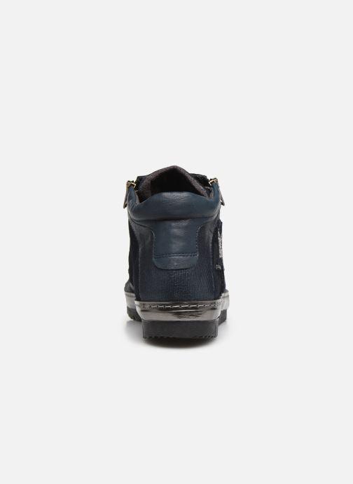Baskets Khrio 10607K Bleu vue droite