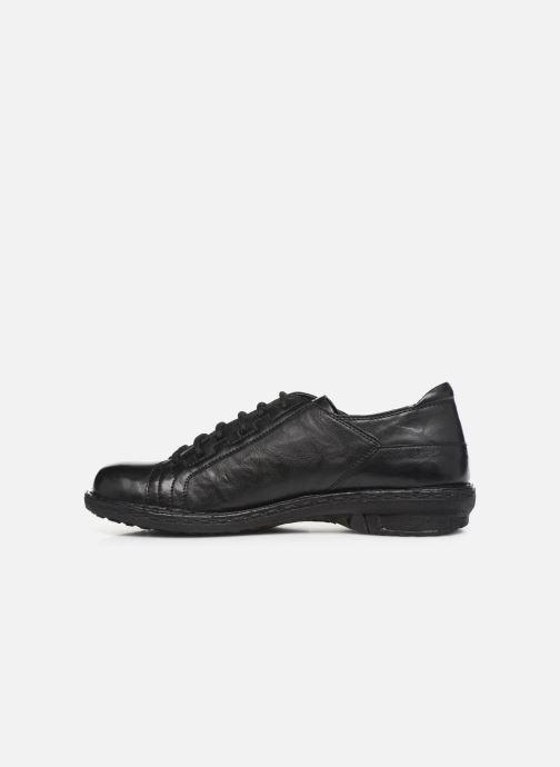 Chaussures à lacets Khrio 10505K Noir vue face