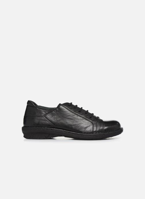 Chaussures à lacets Khrio 10505K Noir vue derrière
