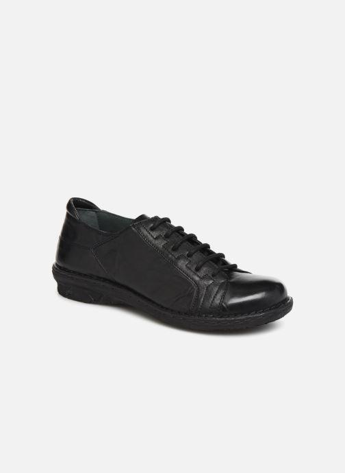 Chaussures à lacets Khrio 10505K Noir vue détail/paire