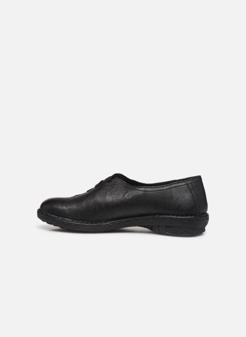 Chaussures à lacets Khrio 10503K Noir vue face