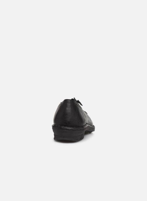Lace-up shoes Khrio 10503K Black view from the right