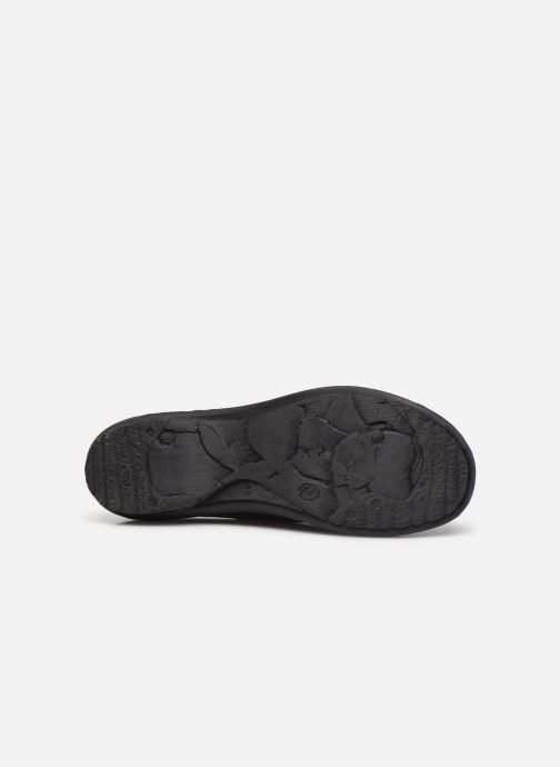 Chaussures à lacets Khrio 10503K Noir vue haut