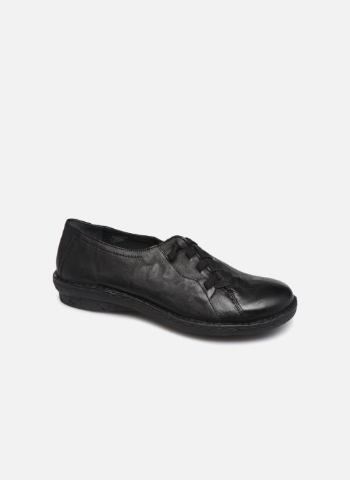 Lace-up shoes Khrio 10503K Black detailed view/ Pair view