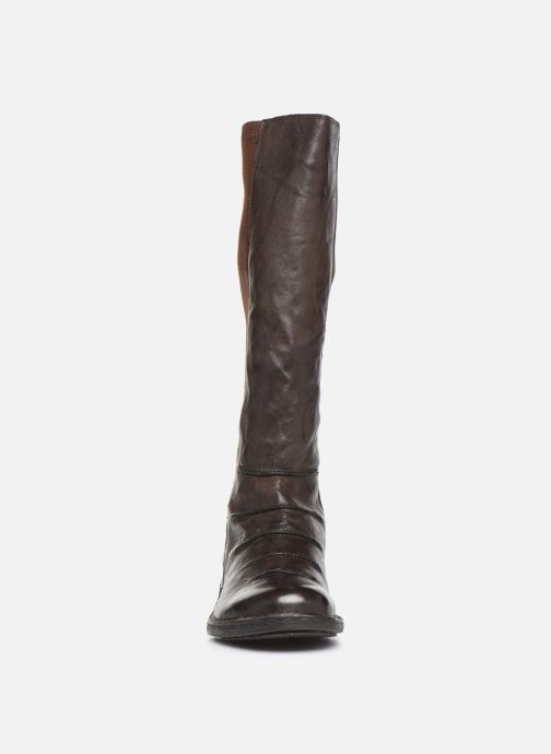 Ankle boots Khrio 10511K Brown model view