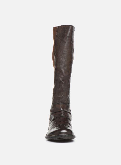 Bottines et boots Khrio 10511K Marron vue portées chaussures