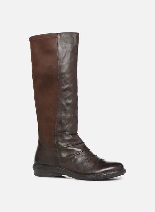Ankle boots Khrio 10511K Brown detailed view/ Pair view