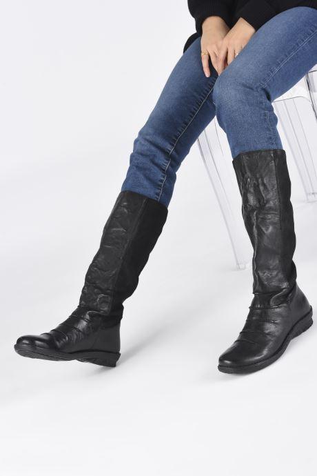 Stiefeletten & Boots Khrio 10511K schwarz ansicht von unten / tasche getragen