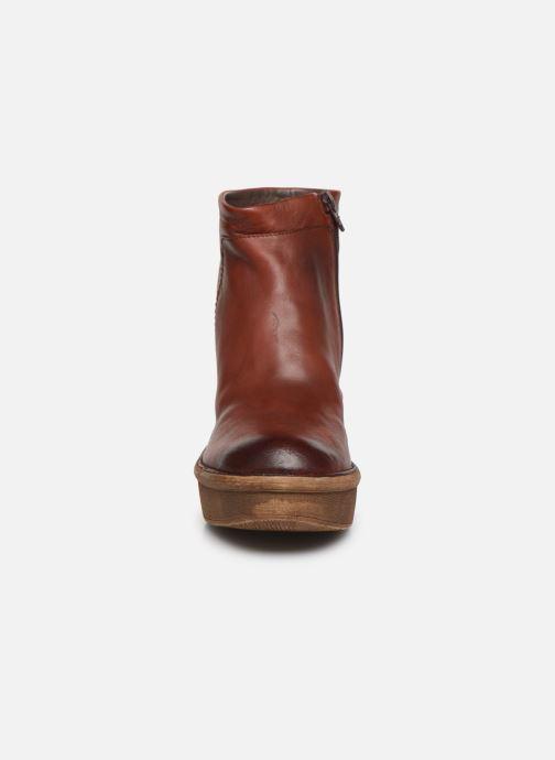 Stiefeletten & Boots Khrio 10643K braun schuhe getragen