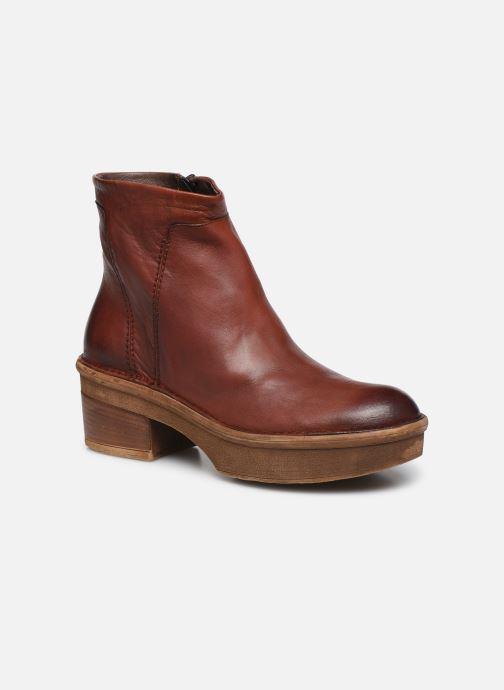 Bottines et boots Khrio 10643K Marron vue détail/paire