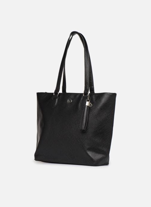 Sacs à main Tamaris MABOU SHOPPING BAG Noir vue portées chaussures
