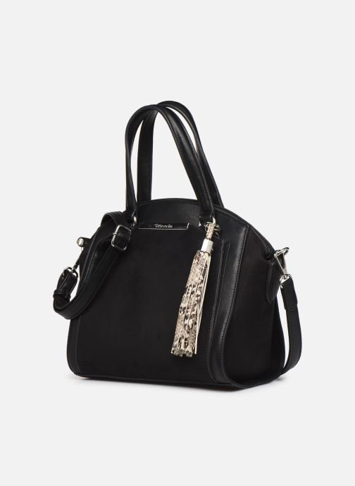 Handtaschen Tamaris MIRELA HANDBAG schwarz schuhe getragen