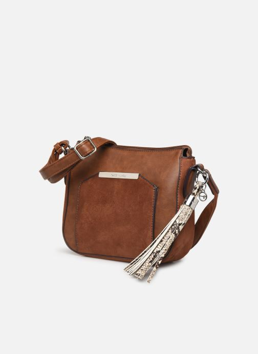 Handbags Tamaris MIRELA CROSSBODY BAG S Brown model view