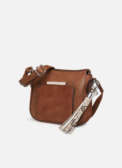 Bolsos de mano Tamaris MIRELA CROSSBODY BAG S Marrón vista del modelo