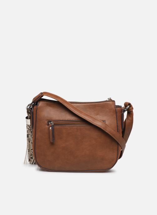 Handbags Tamaris MIRELA CROSSBODY BAG S Brown front view