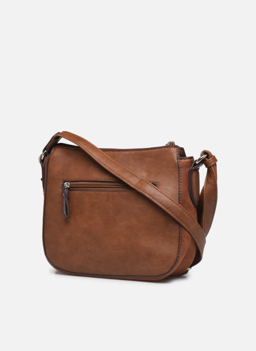 Handbags Tamaris MIRELA CROSSBODY BAG S Brown view from the right