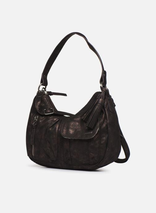 Handtaschen Tamaris PHOENIX HOBO BAG schwarz schuhe getragen