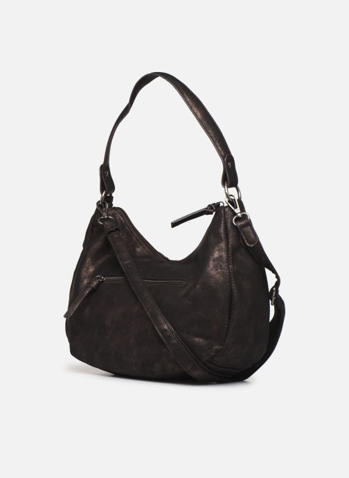 Handbags Tamaris PHOENIX HOBO BAG Black view from the right