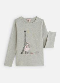 "T-Shirt ""Tour Eiffel"" Gris Clair"
