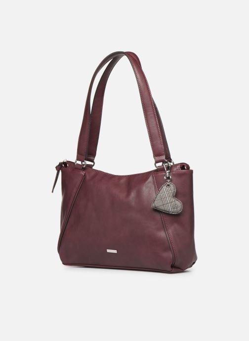 Handtaschen Tamaris NELLI Shoulder bag weinrot schuhe getragen