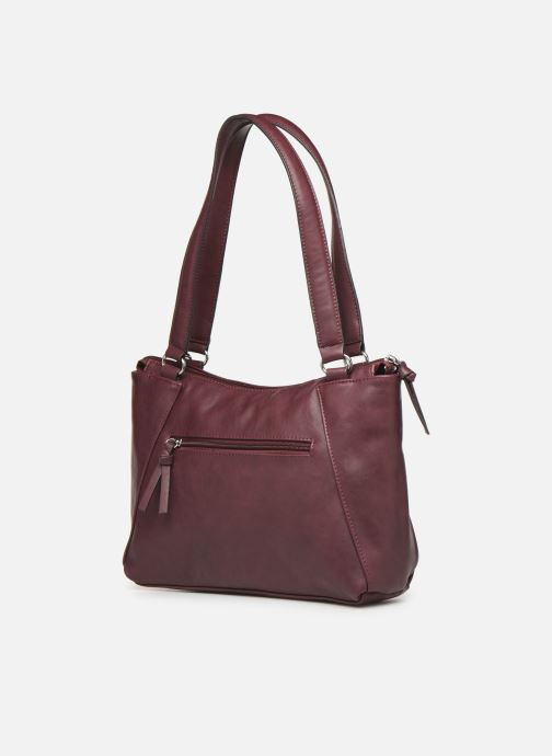 Handbags Tamaris NELLI Shoulder bag Burgundy view from the right
