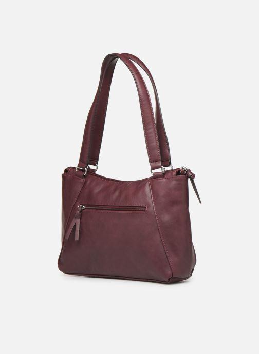 Handtaschen Tamaris NELLI Shoulder bag weinrot ansicht von rechts