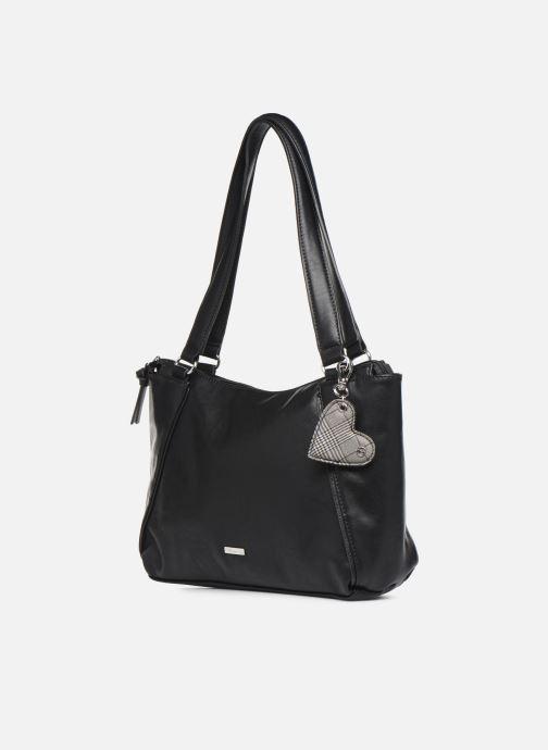 Handtaschen Tamaris NELLI Shoulder bag schwarz schuhe getragen