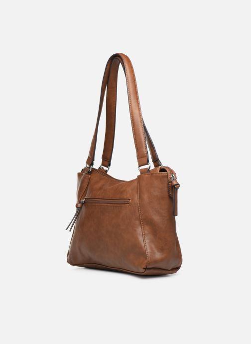 Handtassen Tamaris NELLI Shoulder bag Bruin rechts