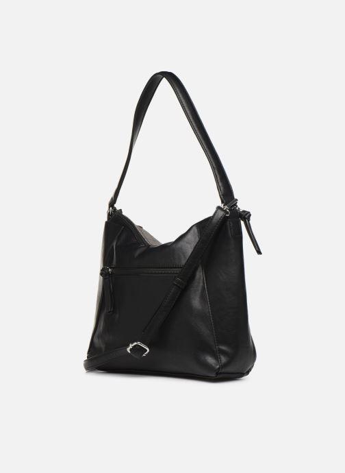 Handtaschen Tamaris NELLI Hobo bag grau ansicht von rechts