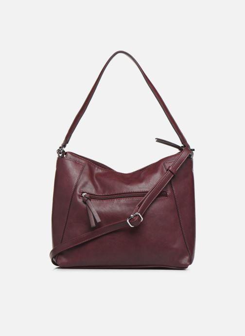 Handtaschen Tamaris NELLI Hobo bag weinrot ansicht von vorne
