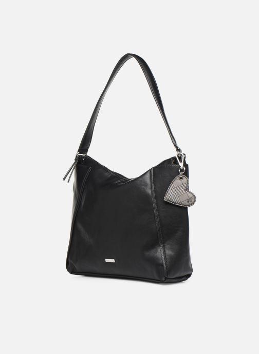 Handtaschen Tamaris NELLI Hobo bag schwarz schuhe getragen