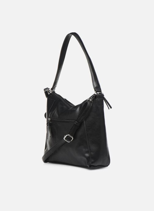 Handtaschen Tamaris NELLI Hobo bag schwarz ansicht von rechts