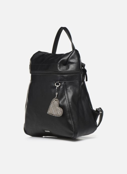Rucksäcke Tamaris NELLI Backpack schwarz schuhe getragen