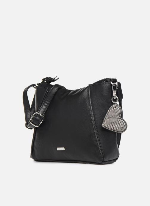 Handbags Tamaris NELLI Crossbody Bag Black model view
