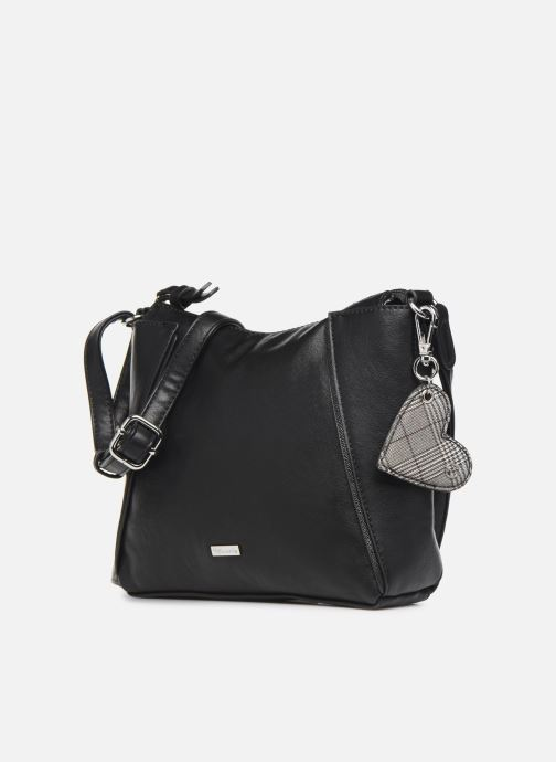 Handtaschen Tamaris NELLI Crossbody Bag schwarz schuhe getragen