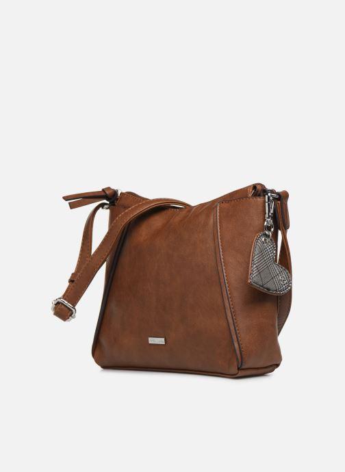 Bolsos de mano Tamaris NELLI Crossbody Bag Marrón vista del modelo